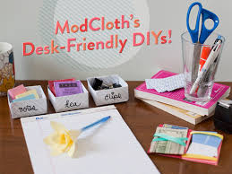 diy office supplies. to help alleviate some of the tedium i present you with deskfriendly diyu0027s courtesy mod cloth blog diy office supplies d
