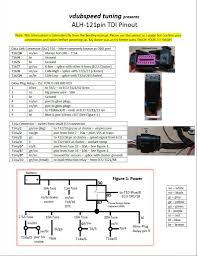alh tdi pinout tdiclub forums 1 2 change t6 1 brown power to ecu when key is on to pin 121 37 on ecu