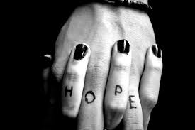 Hope must be lived out