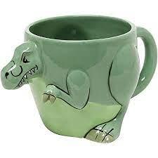 10cm height x 8,5cm diameter (not including handle)</p>,<p>camper. Amazon Com 3 D Shaped T Rex Dinosaur Design Ceramic Mug Novelty Cup Decorative Drinkware Green Mygift Home Kitchen Dining