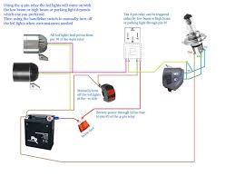 How To Install Led Lights On A Motorcycle Images Motorcycle Led Headlight Wiring Diagram Wiring