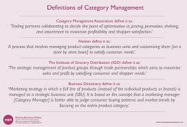 Category Management | Ultimate Guide | FREE Resource | MBM