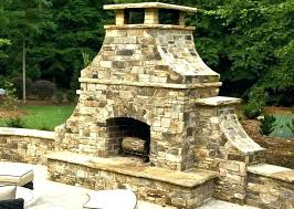outdoor rock fireplace fire rock fireplace outdoor fireplaces outdoor fireplace kits