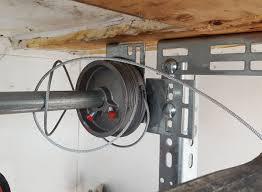 broken garage door cable repair
