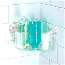 plastic corner shower caddy plastic corner shower best of power lock suction bathroom shower of