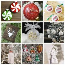 I hope you enjoy crafting with these files! Cricut Christmas Ornament Projects Holiday Fun