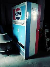 Soda Can Vending Machine Impressive VINTAGE 48'S PEPSI Soda Can Vending Machine W Key 4848 PicClick