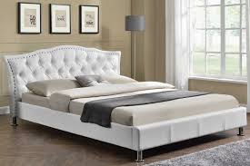 modern king bed frame. Unique Bed Bedding Fancy Modern King Size Bed Frame 17 Georgio White New Web Modern  King Size Metal With O