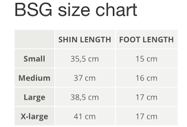 Shin Guard Size Chart Booster Booster Stand Up Shin Guards Bsg Pro Siam Black Green