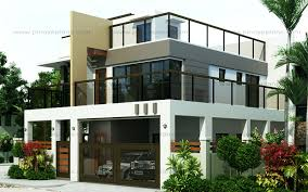 Two Storey Modern House Designs