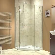 showers corner shower glass doors medium size of for tiled x angle enclosure