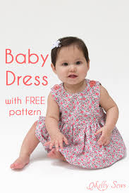 Baby Girl Dress Patterns Simple Sew A Baby Dress With FREE Pattern Melly Sews