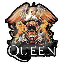 Metal Crest Design Queen Crest Metal Pin Badge Razamataz Trade