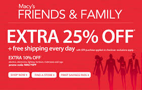My3SonsMom Macy s Friends & Family Printable Coupon Discount