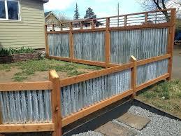 corrugated metal fence ideas corrugated metal fence ideas image of corrugated metal fence panels home corrugated