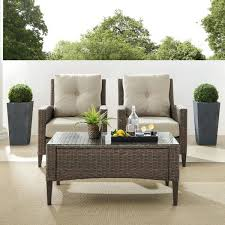 crosley furniture rockport brown 3