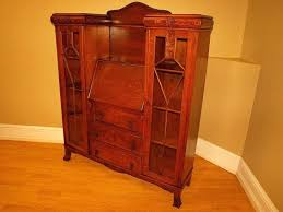 secretary desk with bookcase antique secretary desk with hutch antique mission oak secretary desk bookcase cabinet