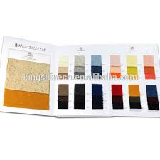 Kingshine Customized Cashmere Fabric Color Chart High Quality Textile Swatch Card Sample Books Making Buy Kingshine Fabric Color Card Fabric Sample