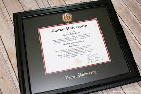 lamar diploma frame from church hill classics