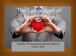 The Languages of Appreciation