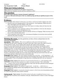 inspector calls essay template by yvonnewinspear teaching  inspector calls essay template by yvonnewinspear teaching resources tes