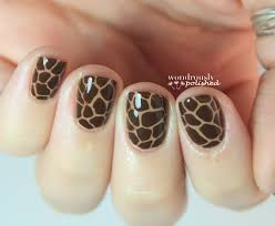 Wondrously Polished: 31 Day Nail Art Challenge - Day 13: Animal Print