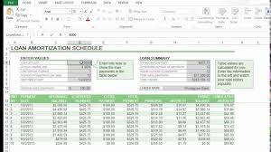 Calculate Loan Amortization How To Calculate Loan Amortization In Excel Youtube
