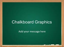 College Ppt Templates Chalkboard Graphics Template