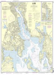 Neuse River Depth Chart Noaa Nautical Chart 13224 Providence River And Head Of