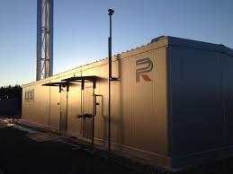 Построенные котельные реализованные проекты ГК rainbow Блочно модульная котельная складской комплекс ГАБО