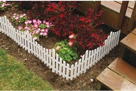 Low White Fence Garden Ideas Suehirofc