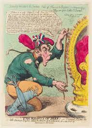 an essay on thomas paine just a little bit censored pandaemonium npg d12420 thomas paine by james gillray published by hannah humphrey