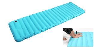 air mattress sleeping bag. Perfect Sleeping High Quality Air Inflatable Mattress Breathable Sleeping Bag Travel  Moistureproof Sleeping Pad Mat PVC And Bag