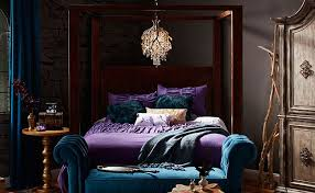 Captivating Jewel Tone Bedroom
