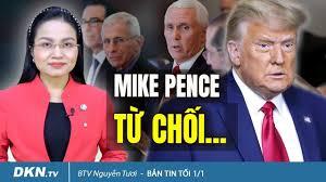Kỷ Nguyên Mới Thời Sự Nóng 24h - Bản tin tối 1/1: Mike Pence cho rằng vụ  kiện dùng để lật ngược kết quả bầu cử... là phi lý | Facebook