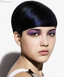 Dark Hair Style cute short hairstyles for the ladies youne 6747 by wearticles.com