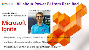 Microsoft Architecture Design Session Learning About Power Bi At Microsoft Ignite 2019 North