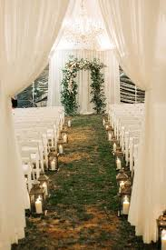 Lighting ideas for weddings Wedding Reception Tented Wedding Ceremony With Candle Lantern Aisle Markers Weddingwire 20 Romantic Wedding Lighting Ideas To Make You Swoon Weddingwire