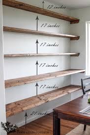 DIY Dining Room Open Shelving