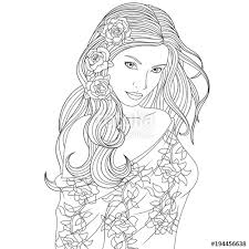 beautiful girl coloring pages. Delighful Girl Beautiful Girl Coloring Pages With Beautiful Girl Coloring Pages L