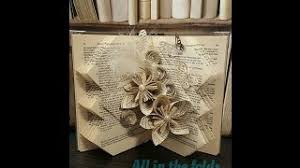 how to make that thursday fold book art pattern by all in the folds