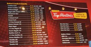 Tim Hortons Nutrition Chart Canada Canada To Introduce Menu Calorie Count For Restaurants In