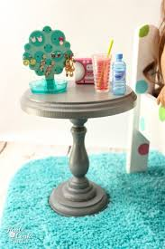 how to make doll furniture. This Is Such A Cute Diy To Make Doll Sized Nightstand. Perfect Craft How Furniture