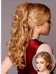 Prom Hairstyles For Thick Hair Prom Hairstyles For Long Hair Half Up Down Back View Fusion Hair