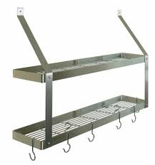 Wall Mounted Kitchen Rack Decor Stainless Steel Kitchen Racks Decor Stainless Steel Kitchen