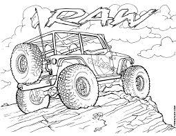 amazing jeep coloring pages cherokee safari colouring car wrangler