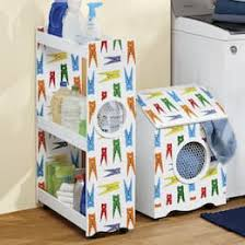 Laundry furniture Utility Room Clothespin Laundry Accessories Ginnys Laundry Room Furniture Storage Carts More Ginnys