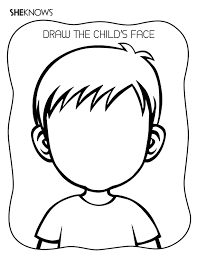 Small Picture Create the Face Page Free Printable Coloring Pages Pre K Art