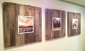 white wood wall decor