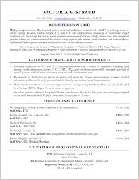Med Surg Rn Resume Examples med surg nurse resume examples Incepimagineexco 6